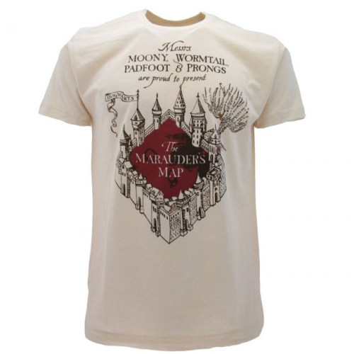 T-Shirt Mappa del Malandrino Harry Potter