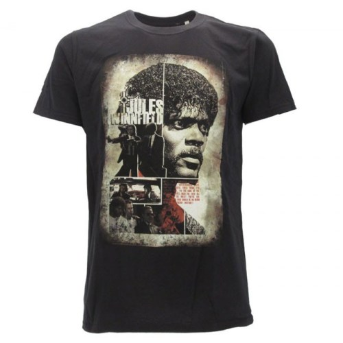 T-Shirt Pulp Fiction Jules Winnifield e Vincent Vega
