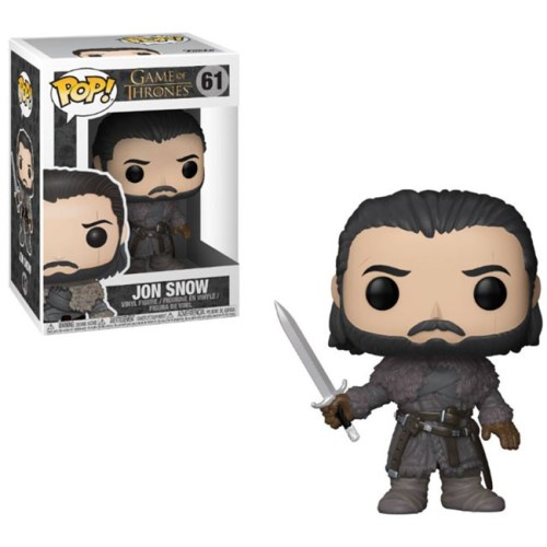 Funko Pop Jon Snow Beyond the Wall Game of Thrones 61