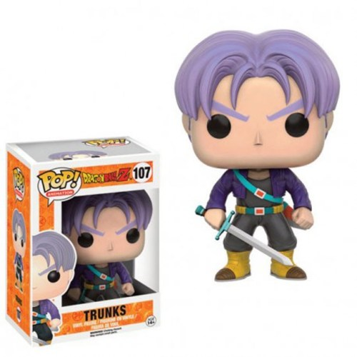 Funko Pop Trunks Dragon Ball 107