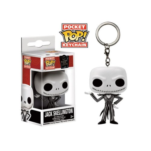 Portachiavi Funko Pocket Jack Skellington Nightmare Before Christmas Disney