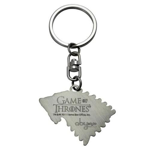 Portachiavi Game of Thrones Stark retro