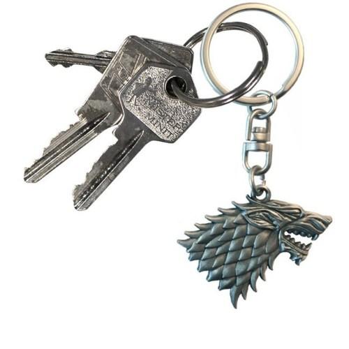 Portachiavi Game of Thrones Stark 3D dettaglio chiavi