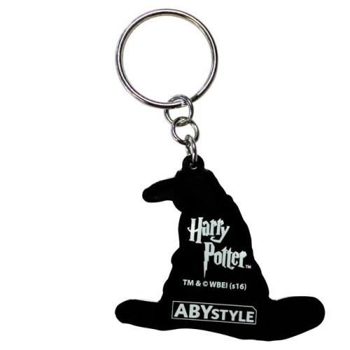 Portachiavi Harry Potter Cappello Parlante in gomma retro