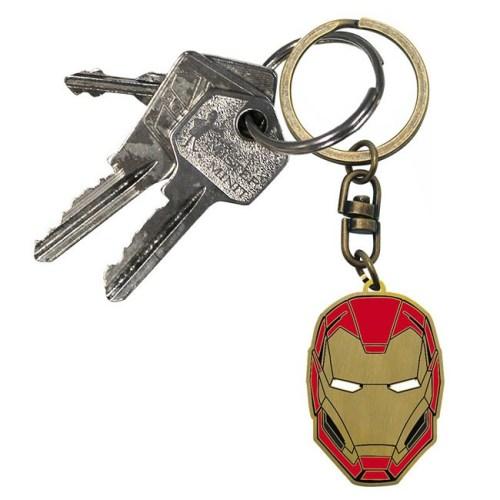 Portachiavi Marvel Iron Man dettaglio chiavi