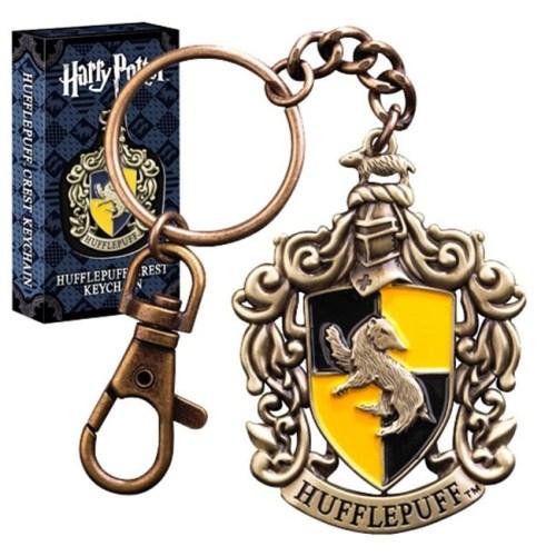 Portachiave Tassorosso Harry Potter Noble Collection con scatola