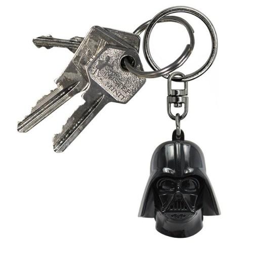 Portachiavi 3D Darth Vader Star Wars dettaglio chiavi