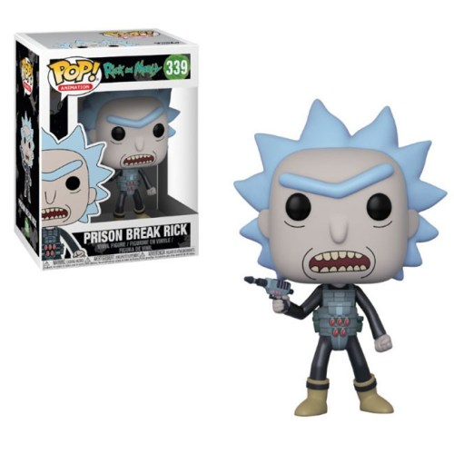 Funko Pop Prison Break Rick Rick and Morty 339