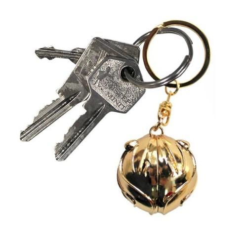 Portachiave Boccino doro 3D Harry Potter dettaglio chiavi