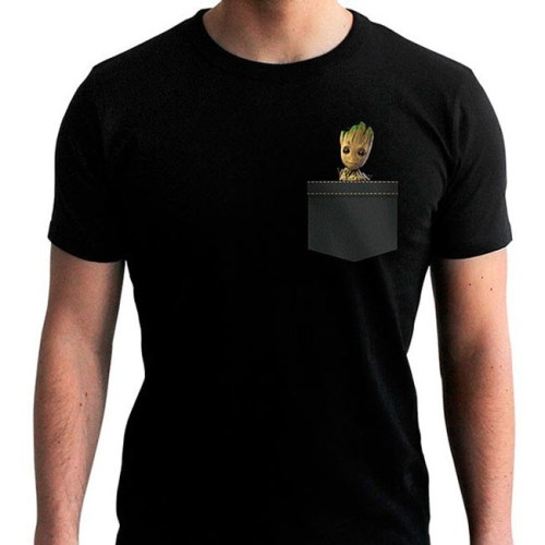 T-Shirt Groot Guardiani della Galassia Marvel