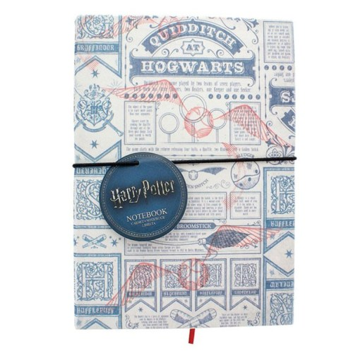 Block Notes Quidditch at Hogwarts Harry Potter