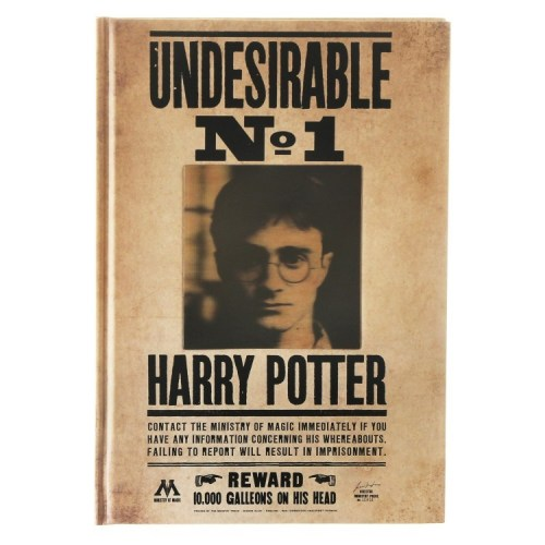 Notebook Lenticolare Undesirable n 1 harry potter