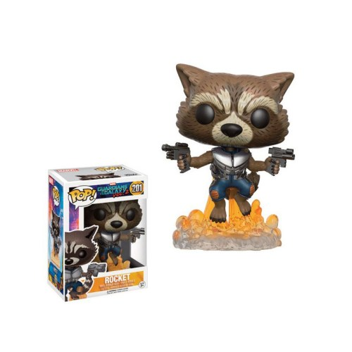 funko pop rocket guardiani della galassia 201
