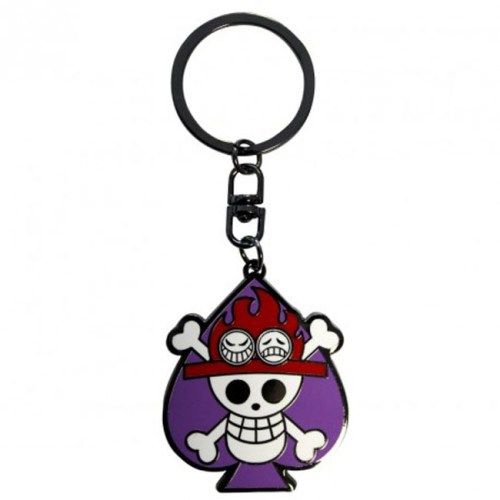portachiavi skull ace one piece