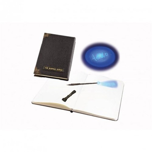 Notebook Diario di Tom Riddles e penna invisibile a bacchetta Harry Potter