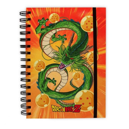 block notes con anelli dragonball z