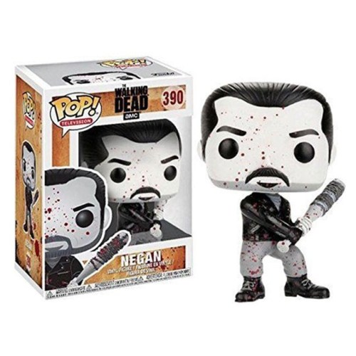 funko pop negan black and white the walking dead 390