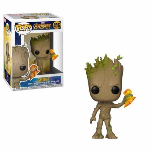Funko Pop Groot Avengers Marvel 416