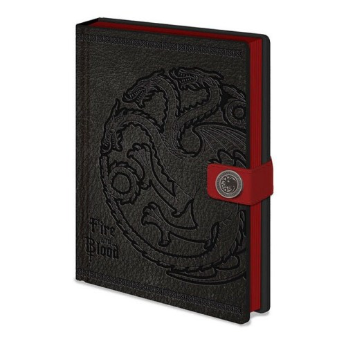 Notebook Targaryen Game of Thrones