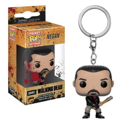 Funko Poket Keychain Negan The Walking Dead