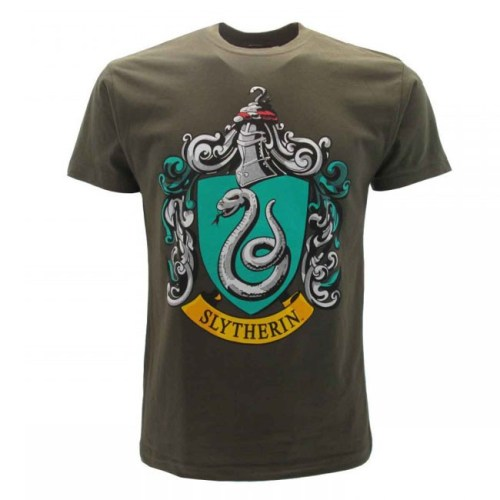 t-shirt verde Serpeverde harry potter