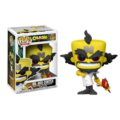 Funko Pop Dr Neo Cortex Crash Bandicoot 276