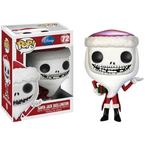 Funko Pop Santa Jack Skellington Nightmare Before Christmas 72