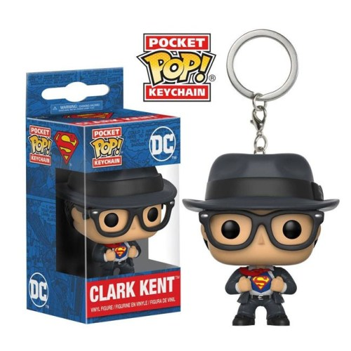 funko pocket keychain Clark Kent Superman Dc Comics
