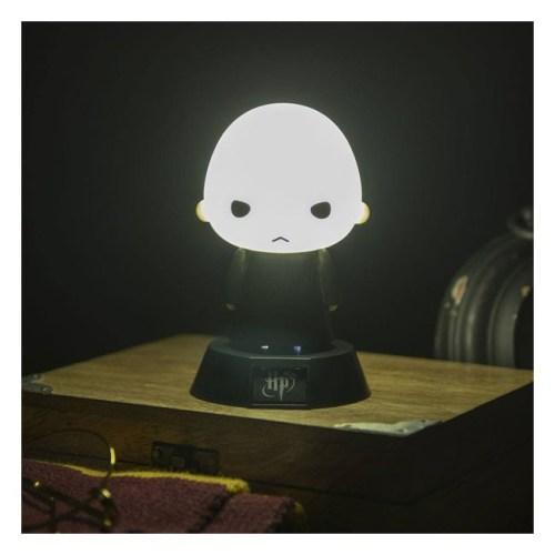 lampada Voldemort Harry Potter accesa