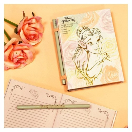 Notebook Belle Beauty and the Beast Disney
