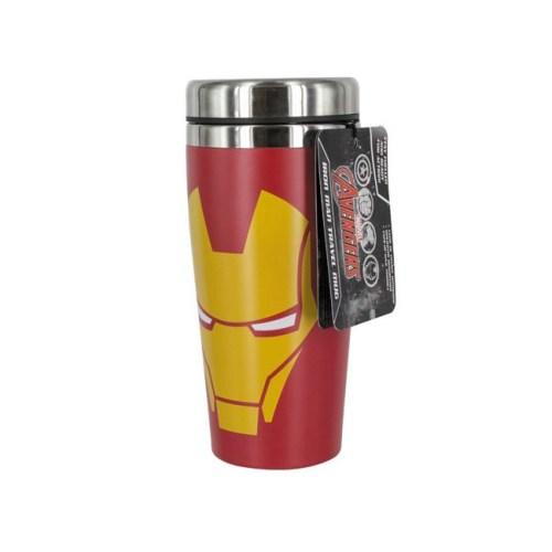 tazza da viaggio termos iron man Avengers Marvel
