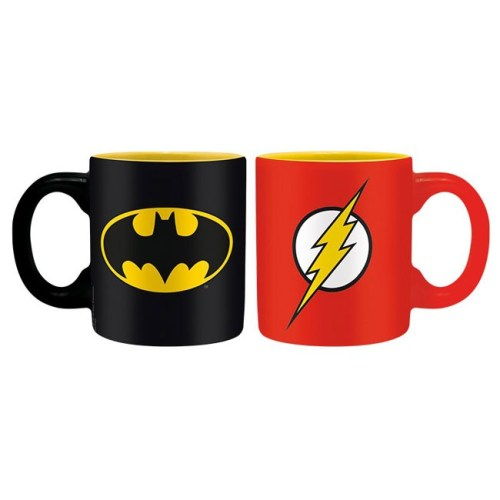 Tazzine Batman e Flash DC Comics