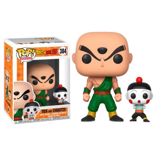 funko pop tien and chiaotzu dragonball z 384