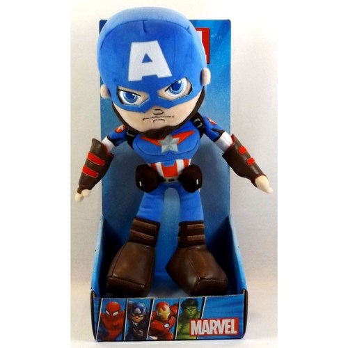 peluche captain America avengers marvel 25 cm