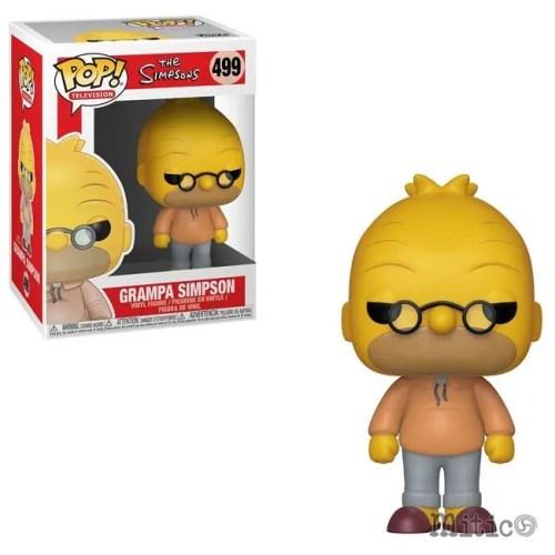 Funko Pop Grampa Simpson the Simpsons 499