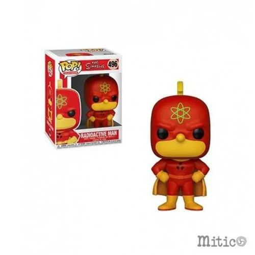 Funko pop Radioactive Man the Simpson 496