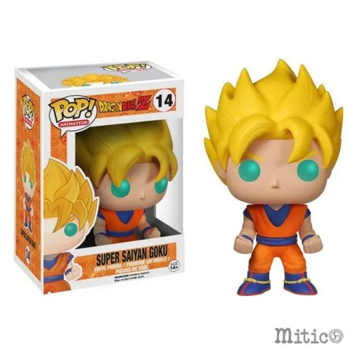 Funko Pop Super Sayan Goku Dragonball Z 14