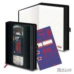 Notebook Stranger Things VHS Tape Vintage