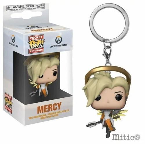 Poket Pop Keychain Mercy Overwatch