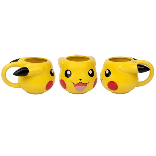 Tazza 3D Pikachu Pokemon