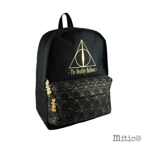Zaino Nero Doni della Morte Harry Potter