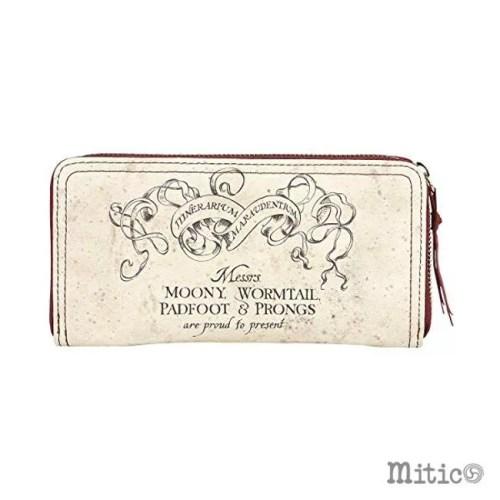 portafoglio da donna Mappa del Malandrino Harry potter retro