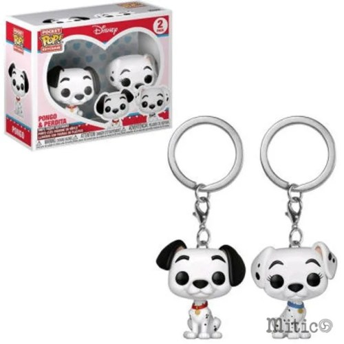 Funko Pocket Keichain Pongo and Perdita Disney
