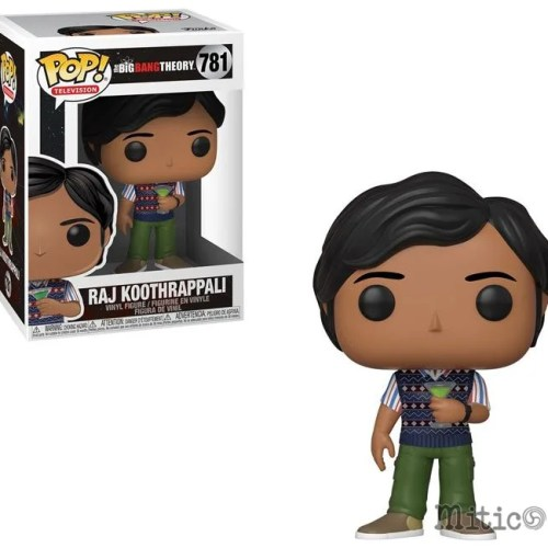 funko pop Raji Koothrappali the big bang theory 781