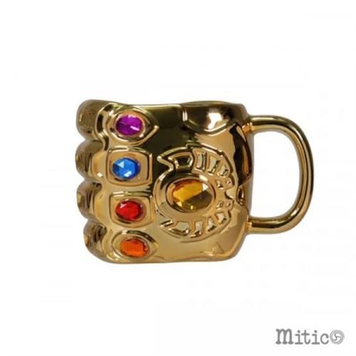 tazza 3d infinity gauntlet thanos Marvel