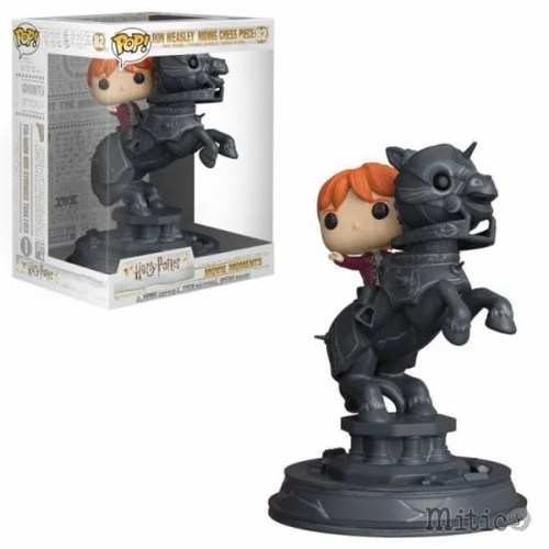 Funko Pop Ron Weasley Riding Chess Piece Harry Potter 82