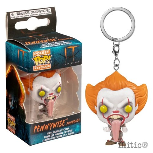 Pocket Pop Keychain Pennywise Fun House