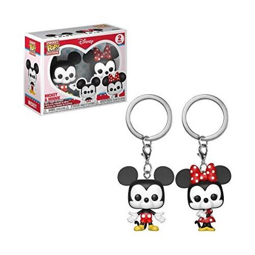 Poket Pop Keychain Mickey and Minnie Disney