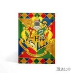 Biglietto augurale Hogwarts Harry Potter