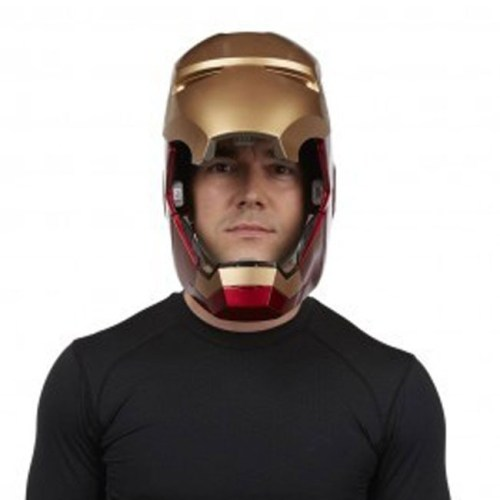 Casco Elettronico Iron Man Marvel Hasbro dettaglio aperto